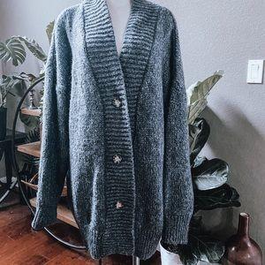 Zara Oversized Knit Cardigan Swester